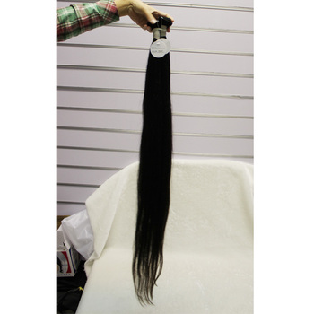 Hot sale natural color straight 40 inch brazilian hair