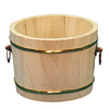 Traditional high class hinoki wine bucket made in Japan
