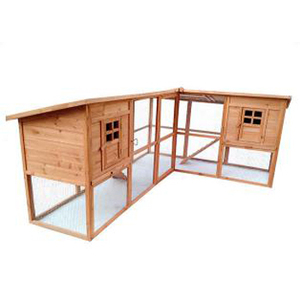 Cheap Printing pet house Bunny Rabbit Wood chicken coop