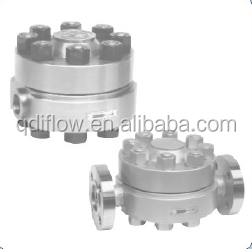 High-temperature/-pressure Disc Type Steam Trap Flanged/Socket Welded