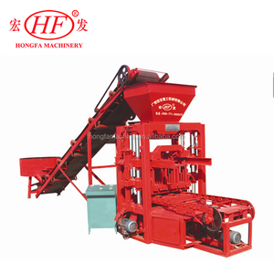 Hot sale Energy saving QTJ4-26D block brick making machine in China with Good quality