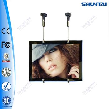 Hanging Ceiling Light Frame A4 Acrylic Led Real Estate Light Box ...