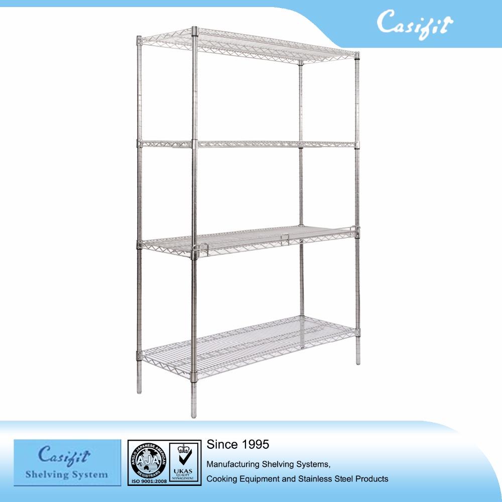 Stainless Steel Storage 4 Tier Shelf Wholesale, Shelf Suppliers ...