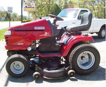 2002 Craftsman Dgt 4000 Garden Tractor Buy Tractor Product on