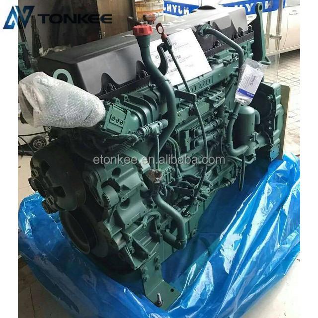 new complete engine D13F original genuine engine assy EC380 EC480
