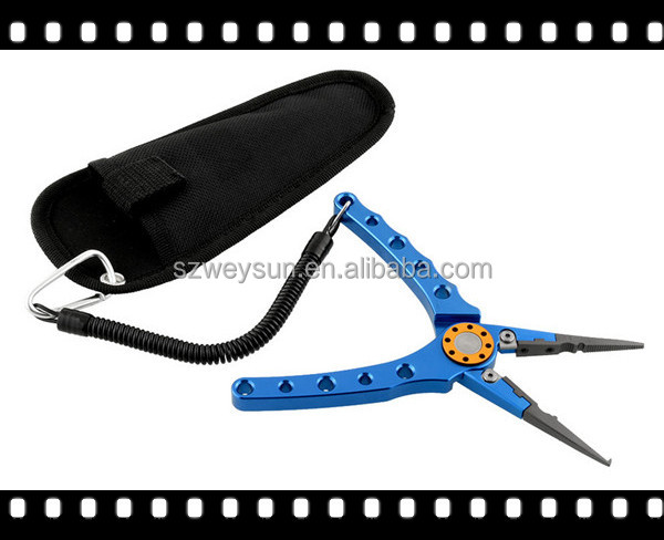 Fishing Multifunctional Plier Stainles Steel Carp Fishing Accessories Fish tackle Lure Hook Remover Scissors DHL free shipping