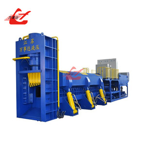 Customized hydraulic scrap metal car body shear baler machine price