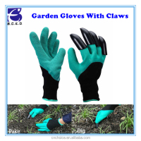 Household digging glove safety working gloves for gardening workers