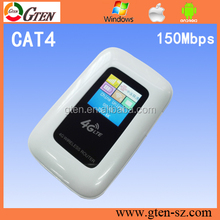 similar to 4G LTE Pocket WiFi Router Huawei E5770 LCD display to indicate battery life,internet flo
