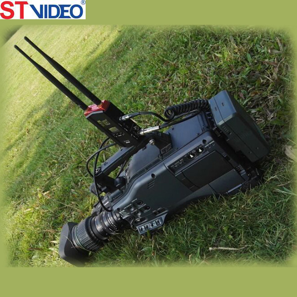 Power saving wireless transmission system, low lantancy video extender, multi channels wireless transmitter and receiver