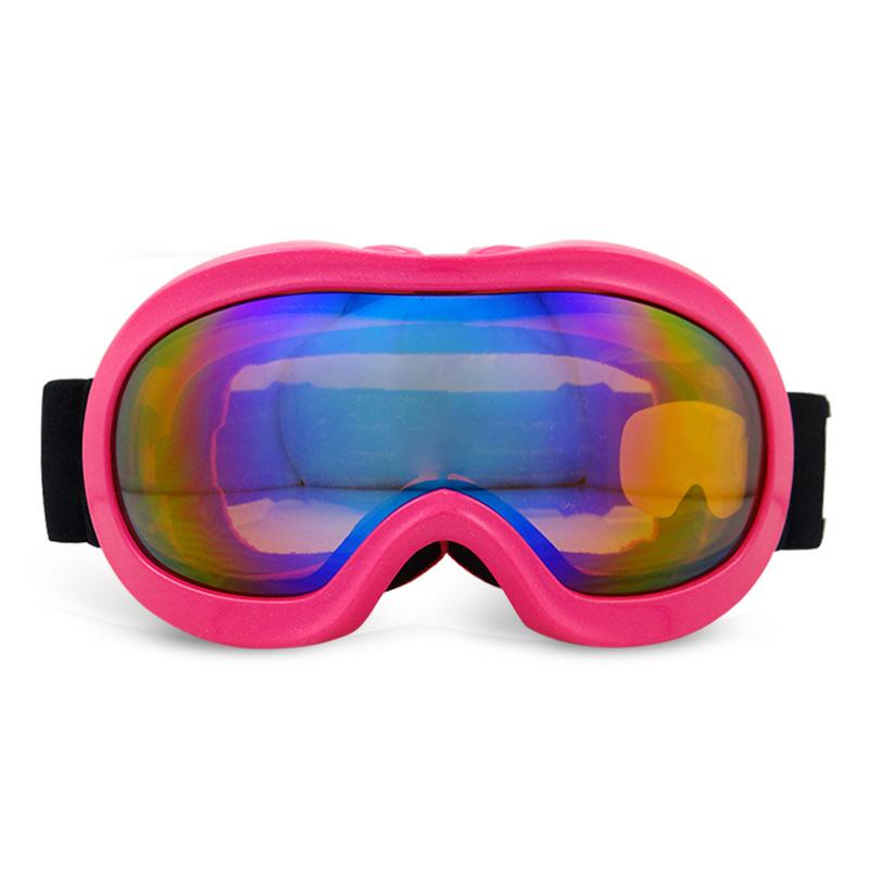 61035125334 outdoor activities skate glasses skiing glasses goggles brand snow snowboard  anti fog custom logo strap