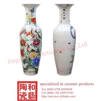 Online Sales Large Chinese Ceramic Spanish Style Floor Vases Buy