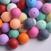 Bpa Free Food Grade Spiky Silicone Rubber Beads
