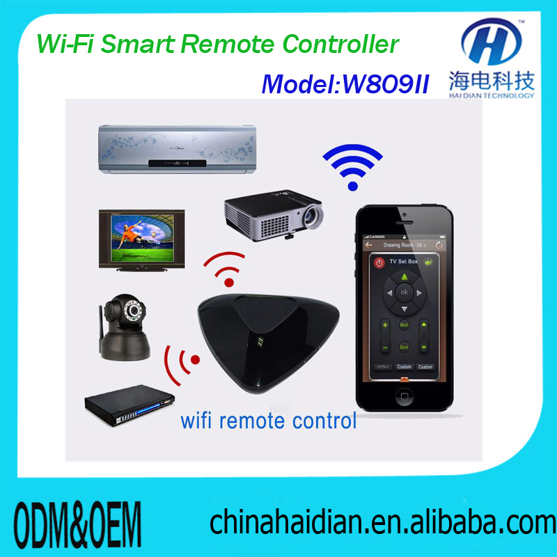 wifi smart Home Automation remote controller Ultimate kit for digital home automation for house/apartment via iso/android