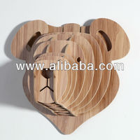 3D wood crafts BEAR