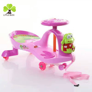 Alibaba plastic baby toys CE approved baby swing car /kids toy car /child twist car for sale