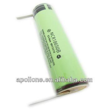 Ncr18650b 3 7v Li Ion Cells With Tabs Buy Panasonic