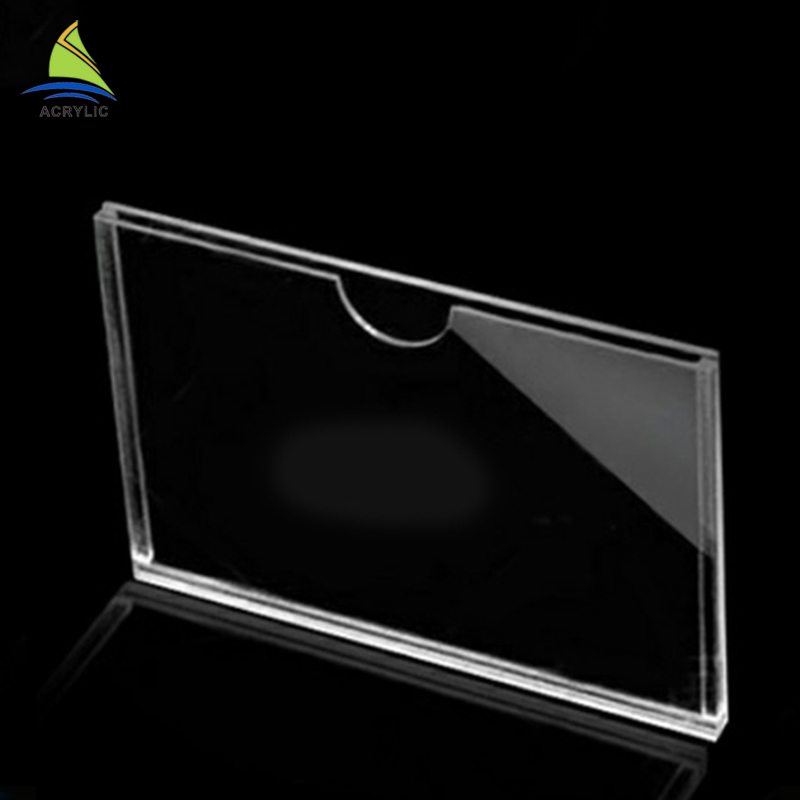 Modern Design Factory Sel Plastic Clear Acrylic Sign Board