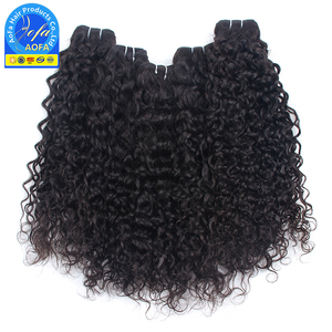 AOFA black star micro braid weft hair wavz, wholesale brazilian color 350 human hair weave