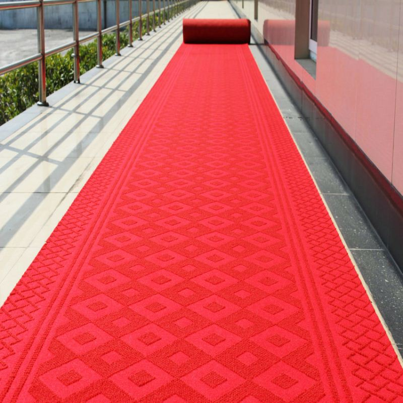 Mud Control Anti Slippery Entrance Decorative Red Carpet Colors