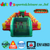 commercial inflatable human table football game