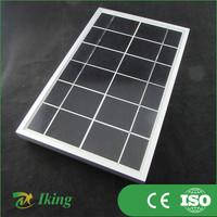 5W Mini Solar Panel High Efficiency Factory Price Custom Design Solar Panel 12v 5w Mini Shenzhen Solar Panel Frame Plastic
