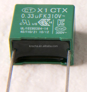 AJC Capacitor X1 1UF 440VAC,UL VDE ENEC approval Interference suppression class X1 capacitor.Hot sale in Turkey Market.