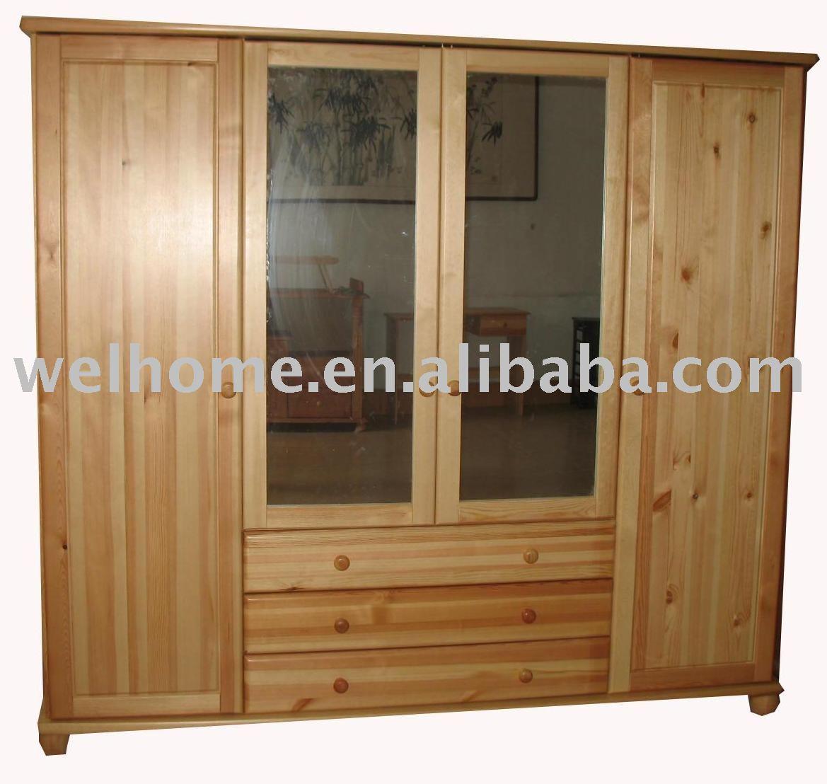F8301 Lemari Kayu Kayu Lemari Bedroom Buy Lemari Pakaian