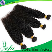 NEW YORK double drawn curly hair extension for black women