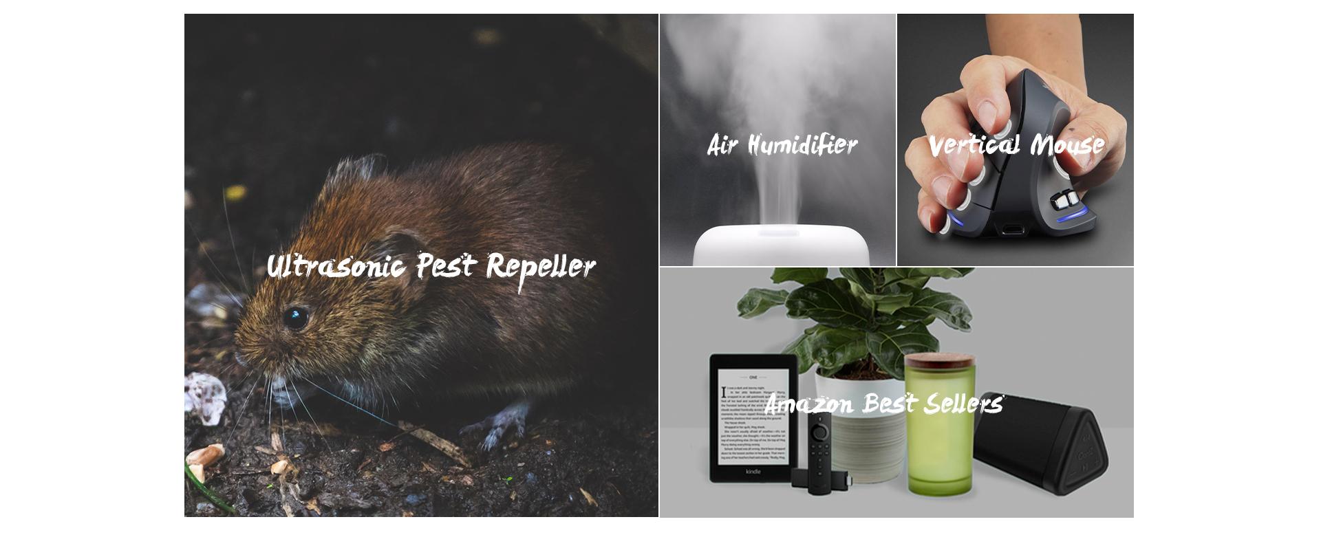 Best Ultrasonic Pest Repeller 2020.Shenzhen Onu Mall Technology Co Limited Pest Repeller