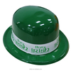 MH-2200 Party Custom logo Green Saint St Patrick Day Derby Bowler Hat