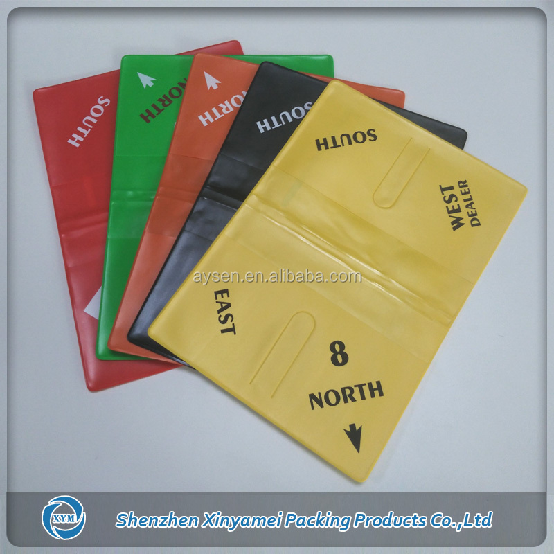 casino usage bridge card soft pvc duplicate wallets with slots