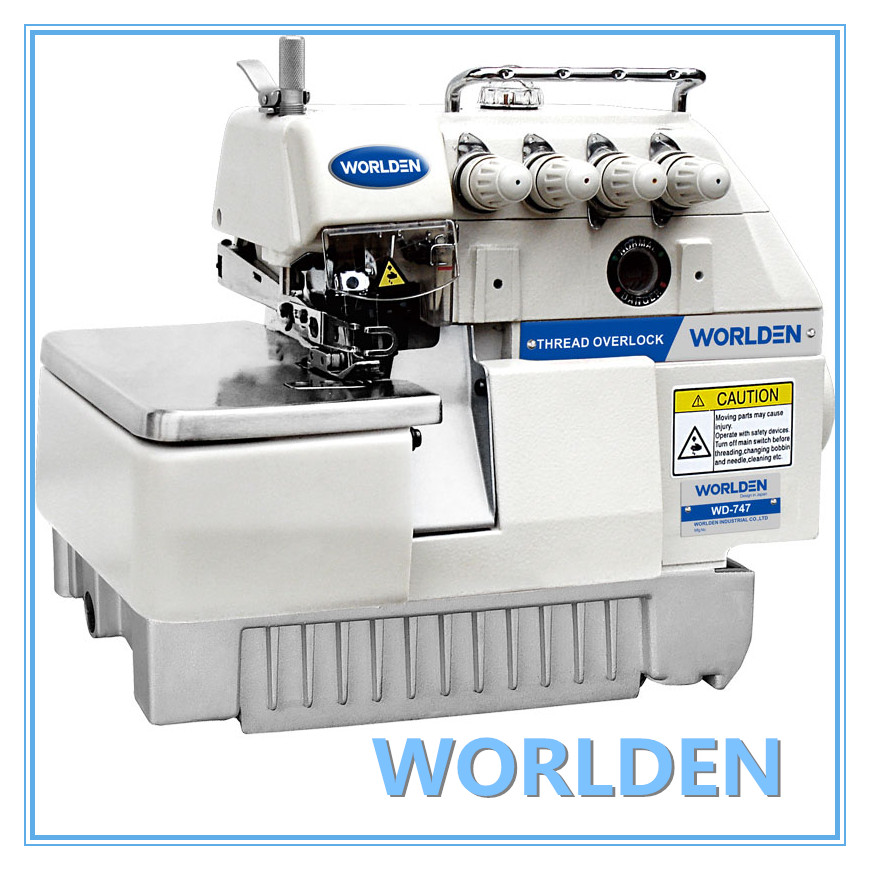 Wd-747 4 Thread Overlock Sewing Machine Price Sewing Machine