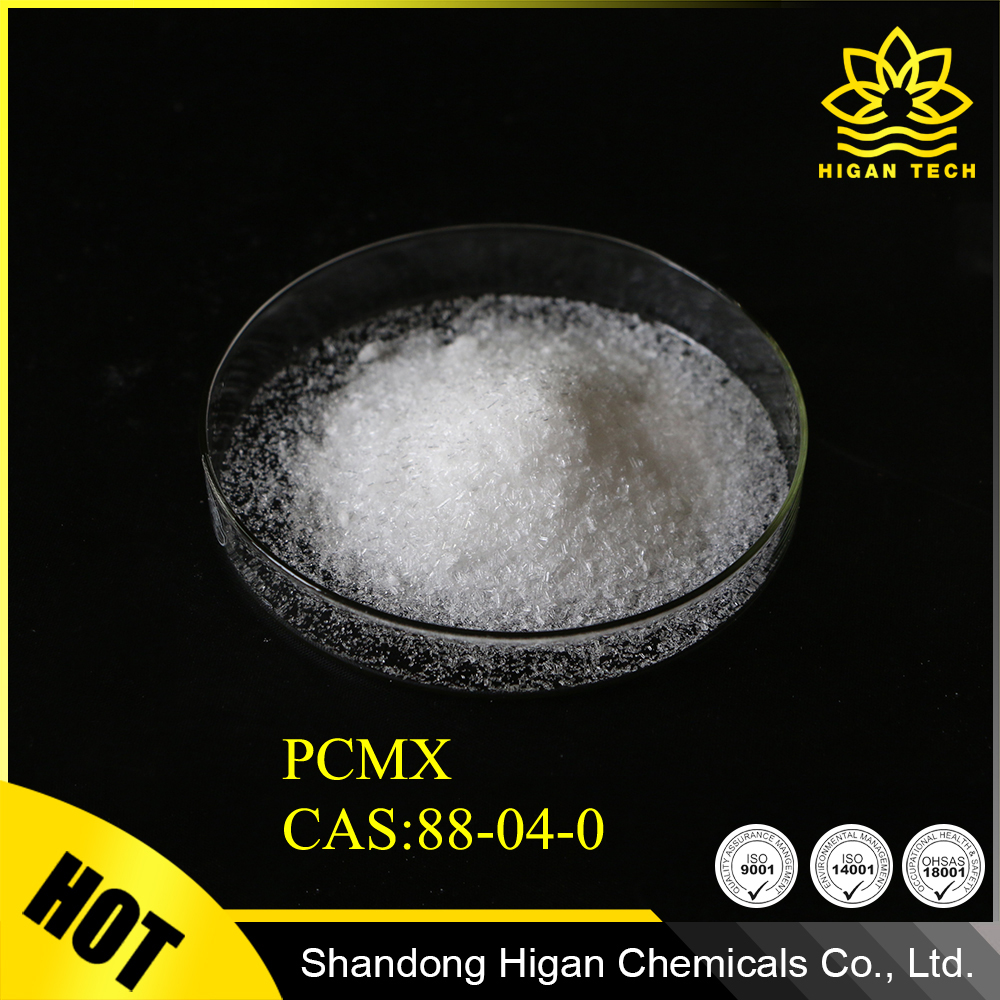 Antiseptic and disinfectant agent Chloroxylenol PCMX with CAS No.: 88-04-0