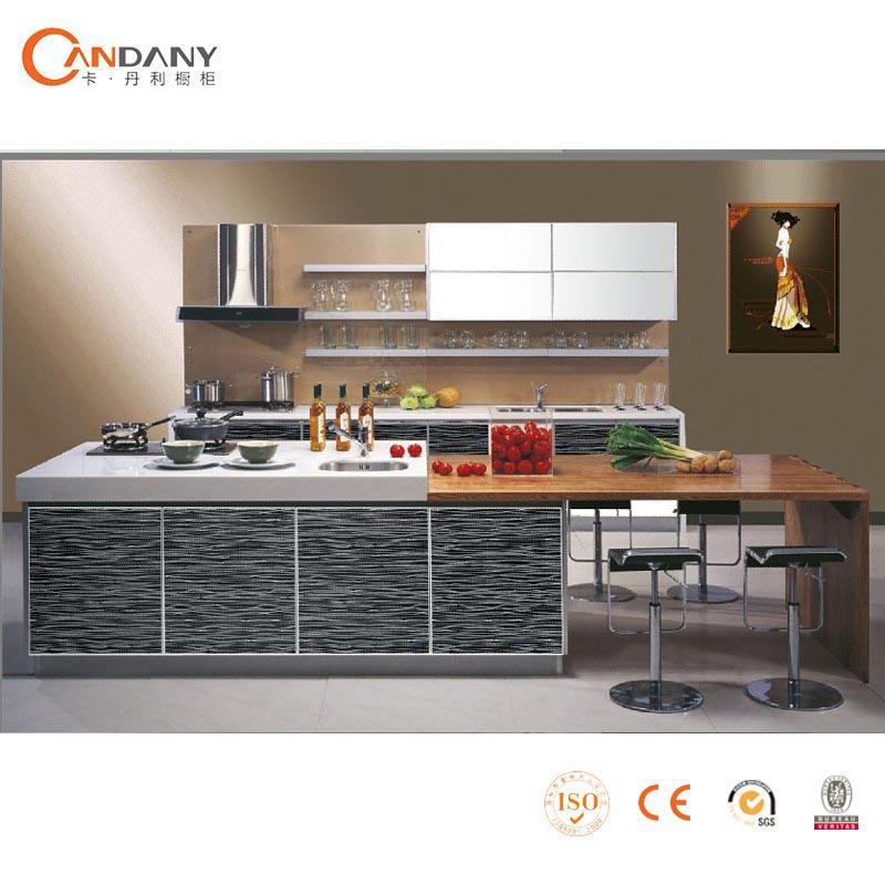 Acrilico mdf moderno diseño de la cocina backsplash de la cocina ...