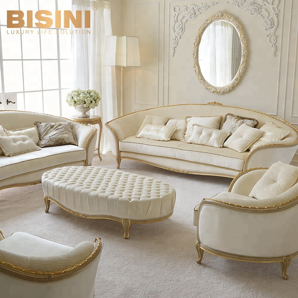 Bisini Italian Style Luxury Sofa Set