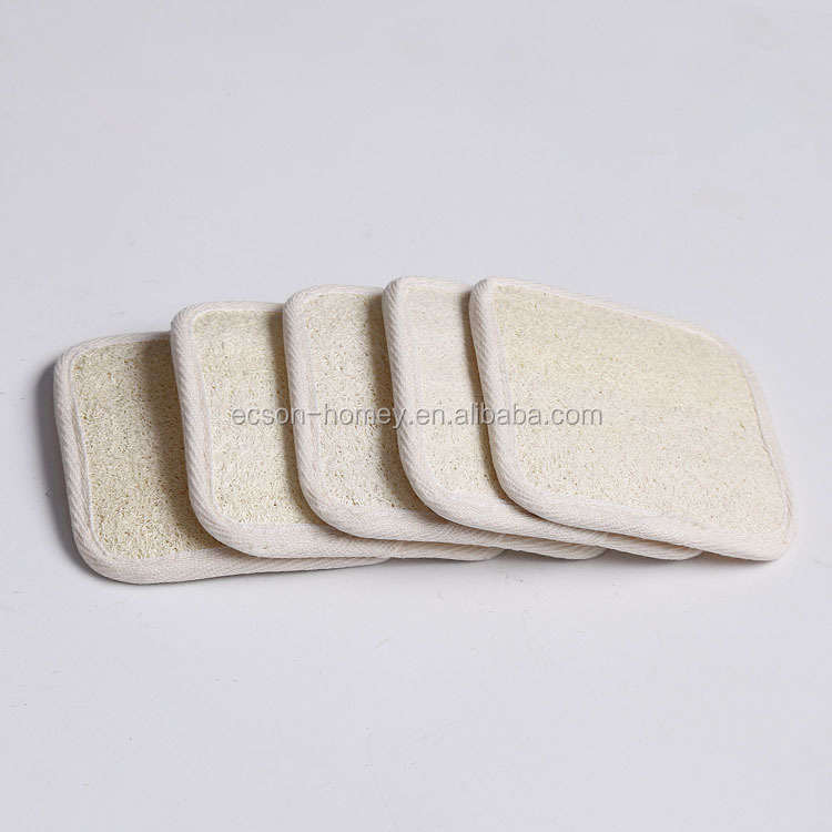 Loofah Facial Exfoliating Cleaning Bath Pad Complexion Buff Pads