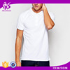 2016 Guangzhou Shandao Plain Dyed 200g 65%Cotton 35%Polyester Short Sleeve Slim Fit Online Clothes Shopping