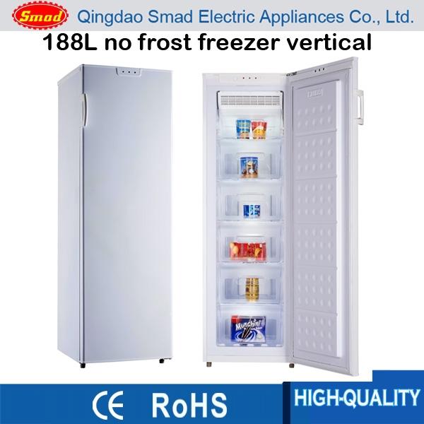 188l No Frost Freezer Vertical Frost Free Mini Freezer