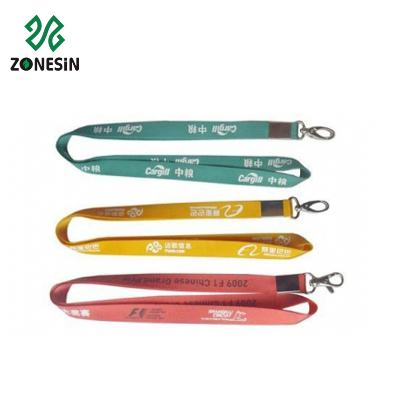 Hot Topic Wholesale Custom Nylon Lanyards With Phone String For Mobile Phone