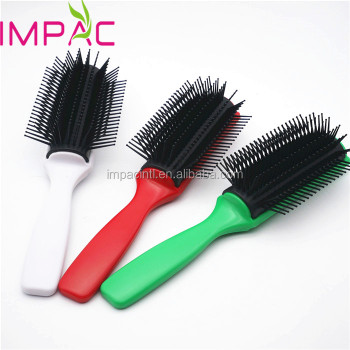 High quality professional paddle 9 row brush styling brush for salon
