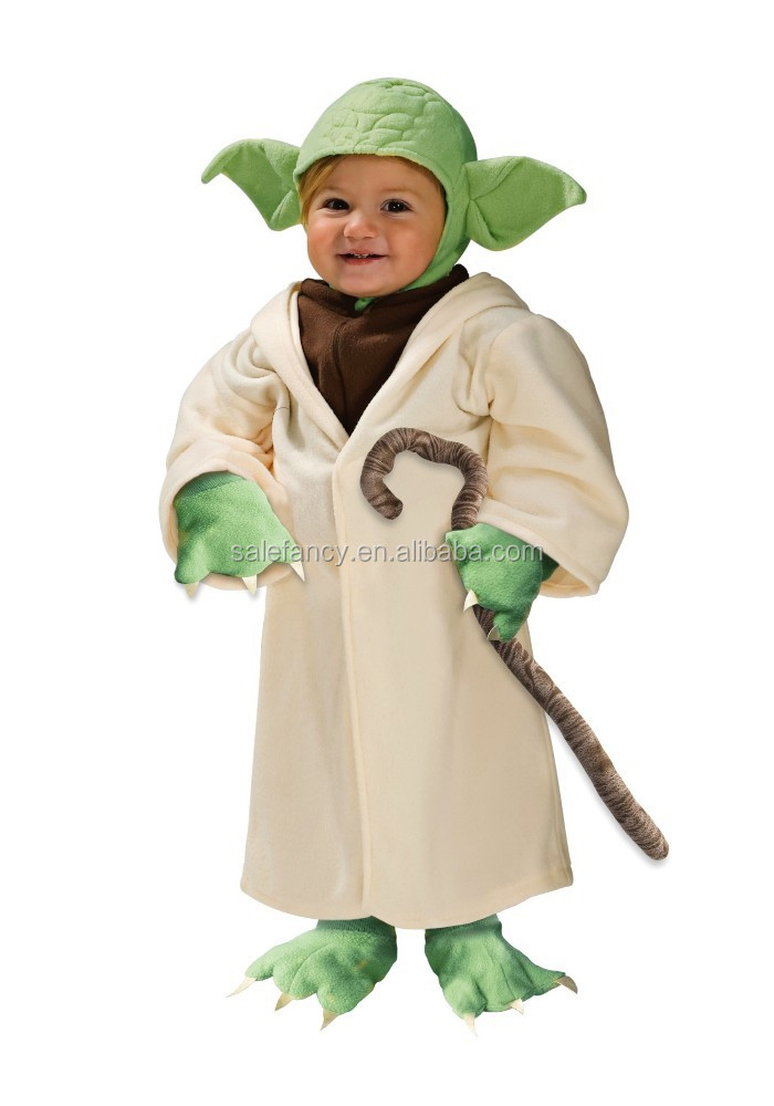 Boys Baby Toddler Yoda Costume fancy dress up shrek Costume QBC-2032