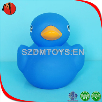 Trustworthy China Supplier Blue Rubber Duck Baby Duck Bath Toys ...