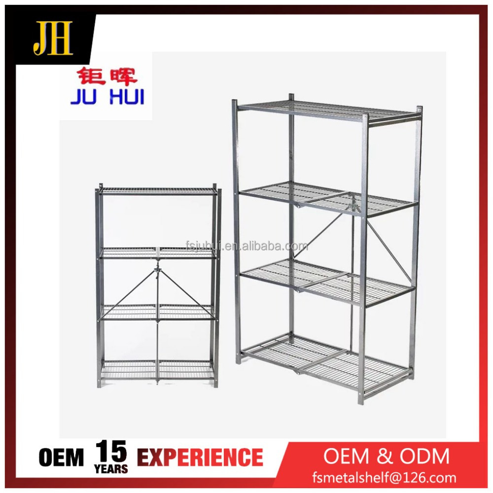 office house net type folding multifunctional wall book shelf