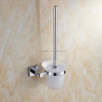 high quality brass hotel washroom bathroom Toilet Brush Holders sanitary ware metal accessories
