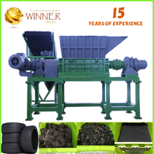 High capacity and strict quality control waste cutting and recycling equipment