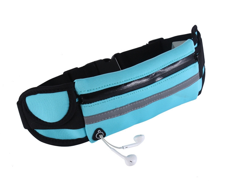 Outdoor running travel sports purse foldable mobile phone bag waterproof close-fitting multi-functional Waist pocket Purse