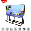 ultra slim bezel lcd tv walls,indoor advertising lcd screen
