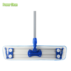 Hot sales easy cleaning mop professional microfiber dust flat mop frame