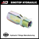 15618-R5 npt male reusable hydraulic hose ferrule fitting